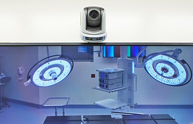 Operating room video monitor